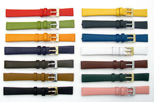 Fine-Calf-Leather-Watch-Strap-Band-Huge-Choice-of-Colours-8mm-10mm-12mm-14mm