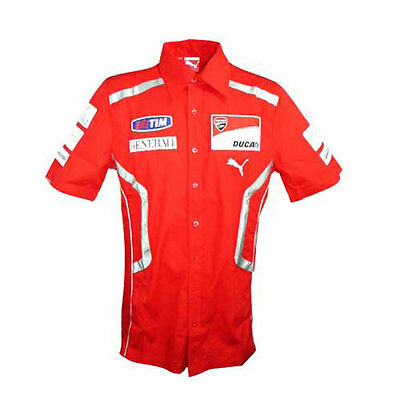 DUCATI CORSE MOTOGP MENS TEAM REPLICA SHIRT RED SIZE SMALL ONLY