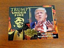 DECISION 2016 SERIES GOLD FOIL TRUMP UNDER FIRE TUF9 TRUMP WANTS TO PUT BAN