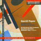 Gavriil Popov: Symphony No. 1; Chamber Symphony (CD, Oct-2011, Northern Flowers)
