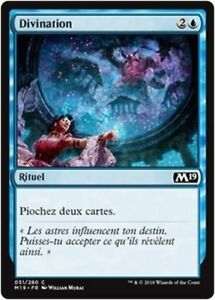 x4 MTG Magic M19 - Recollect//Souvenance French//VF