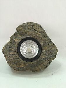 Gardenwize Jardin Cour Patio Solaire Rock Stone Light Ornement Décoration-afficher Le Titre D'origine Riche Et Magnifique