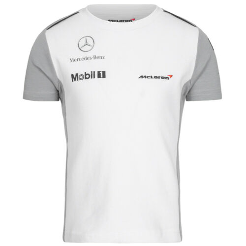McLaren Jenson Button Ichiban Kinder Baby Motorsport Trainings Fitness Shirt neu