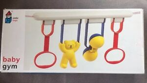Ambi Toys Baby Gym Crib Play Yard Infant Toy Set Made In Holland