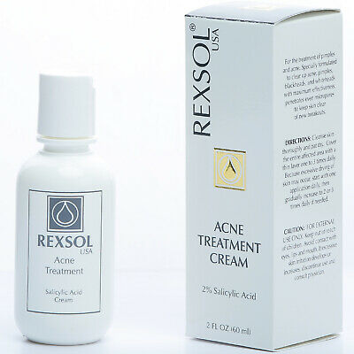 Rexsol Acne Treatment Cream Salicylic Acid Cream Ebay