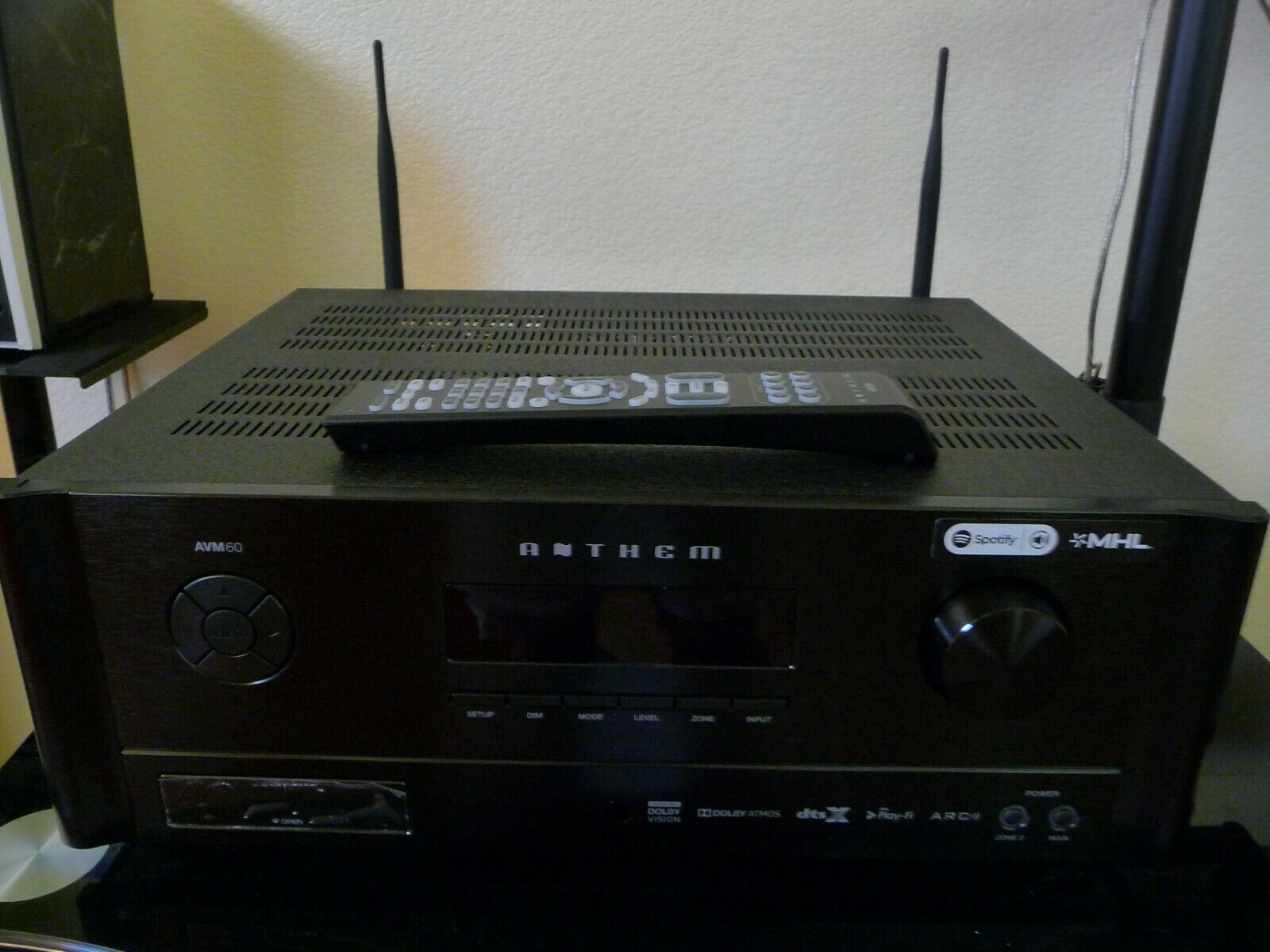 Anthem AVM 60 A/V Processor/ Pre Amplifier in the original box. Available Now for 2381.00