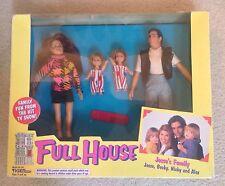 FULL HOUSE JESSE'S FAMILY DOLLS w Jesse, Becky, Nicky & Alex Doll (1993 Tiger)