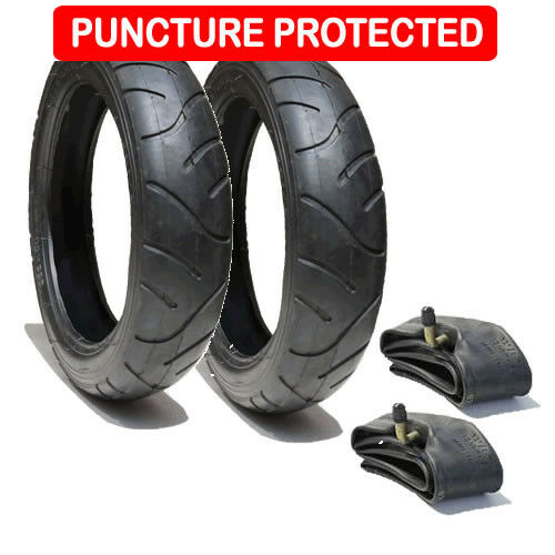 Puncture Protected QUINNY SPEEDI TYRE AND TUBE SET REAR WHEELS