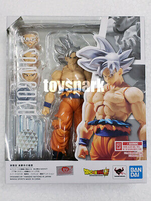 Bandai S.H.Figuarts Dragon Ball Son Goku Ultra Instinct Action Figure Gokou SH