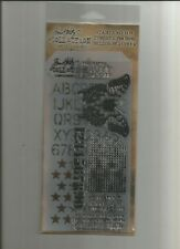 Tim Holtz Stampers Anonymous Stamps / Stencil THMM106 - Perspective -#215