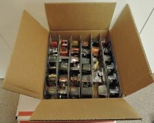 HOT WHEELS AND MATCHBOX 10 COUNT CASE WITH CARS FROM 2007 TO 2017 , NO RESERVE