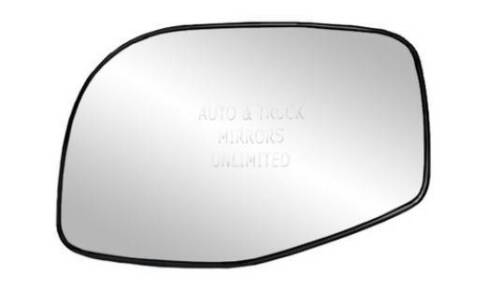 NEW Mirror Glass WITH BACKING HEATED EXPLORER MOUNTAINEER Driver Left Side