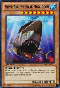 3X-Hyper-Ancient-Shark-Megalodon-BP02-EN121-1ST-ED-RARE-MINT-YU-GI-OH