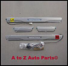 NEW 2013-2015 Nissan Sentra LIGHTED DOOR SILL KIT, Door Sill Kick Plates,OEM