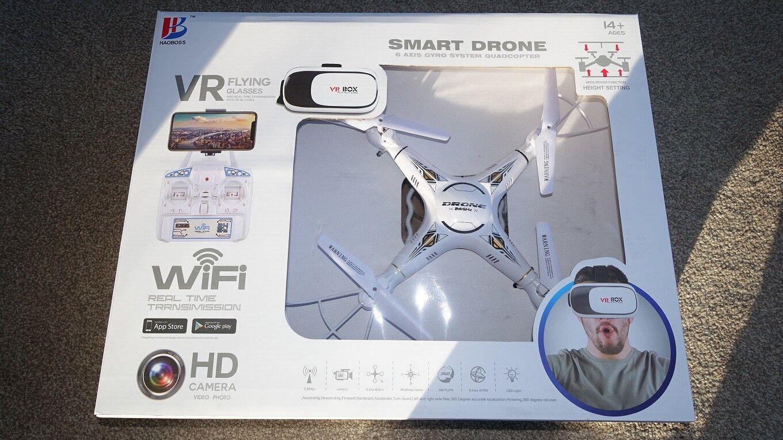 SMART DRONE WIFI VR FLYING GLASSES HD CAMERA VR BOX NEW