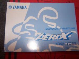 4d Bedienungsanleitung/owner S Manual Yamaha Aerox Yq50 Yq50l Yq 50 L 9lvyd2d9-08003354-797522252
