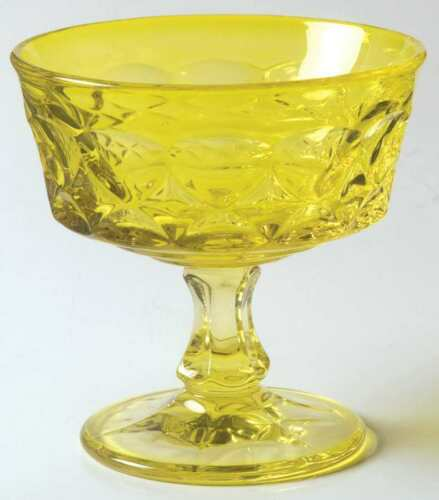 Noritake PERSPECTIVE YELLOW Champagne Sherbet Glass 476817