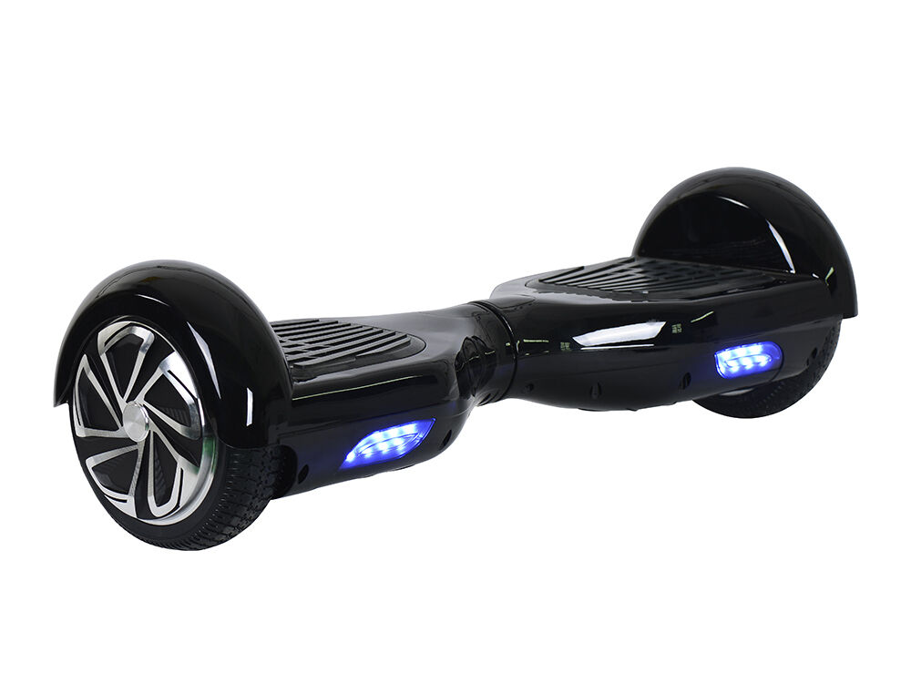 black smart electric scooter 2 wheels unicycle balancing. Black Bedroom Furniture Sets. Home Design Ideas