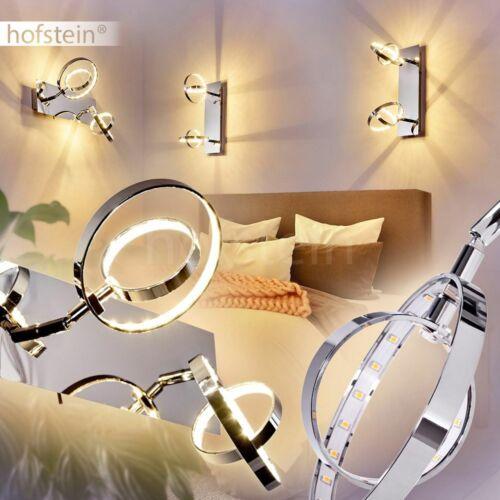 Wand Lampen LED Flur Strahler Schalter Wohn Schlaf Zimmer Beleuchtung drehbar