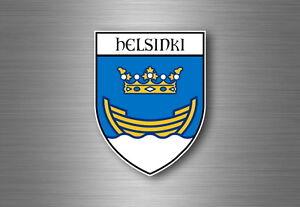 sticker adesivi adesivo stemma etichetta bandiera auto helsinki finlandia - France - État : Neuf: Objet neuf et intact, n'ayant jamais servi, non ouvert, vendu dans son emballage d'origine (lorsqu'il y en a un). L'emballage doit tre le mme que celui de l'objet vendu en magasin, sauf si l'objet a été emballé par le fabricant d - France