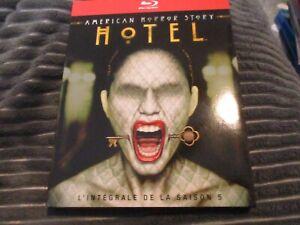 "COFFRET 3 BLU-RAY ""AMERICAN HORROR STORY - SAISON 5 (HOTEL)"" serie horreur"