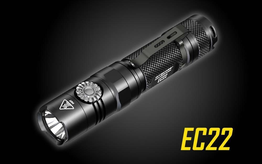 Nitecore® EC22 1000 Lumen Infinite Brightness LED Flashlight