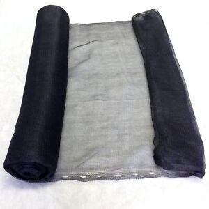 DéTerminé 3 M X 50 M Yuzet Noir Débris Filet Vent Shade échafaudage Pour étang De Jardin Balcon-afficher Le Titre D'origine