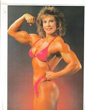 female bodybuilder Janice Regain Female Bodybuilding Muscle Photo Color