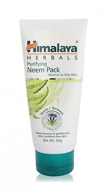 Himalaya Herbals Ayurvedic Purifying Neem Pack Face Care 50 gm