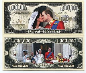 Million-Dollar-Royal-Wedding-2011-Colored-Novelty-Note