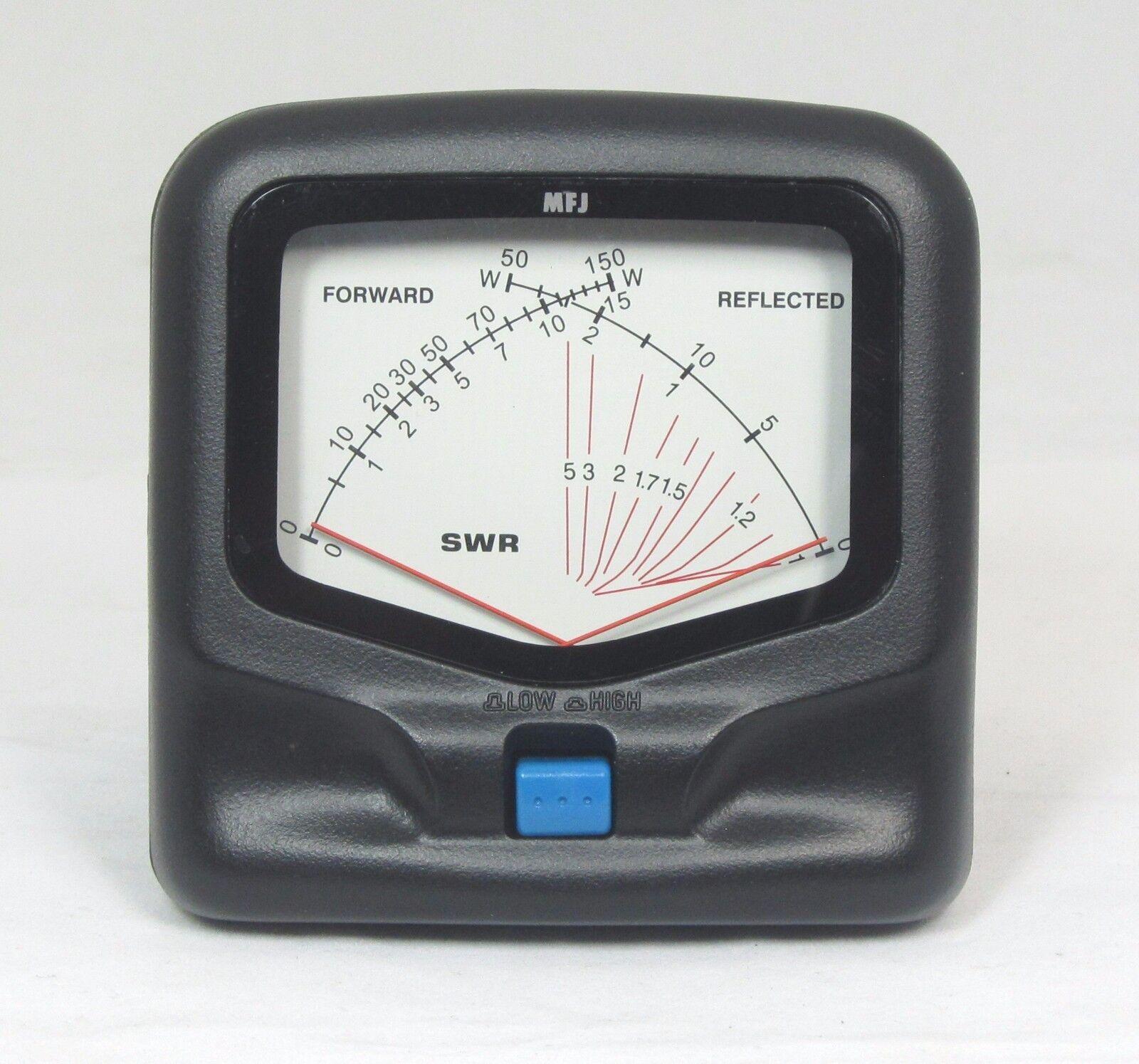New MFJ-842 VHF/UHF SWR/Wattmeter - 140 to 525 MHz 15/150 Watts. Base mobile ham.