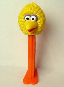 Big-Bird-Pez-Sesame-Street-Large-Candy-Dispenser-Vintage