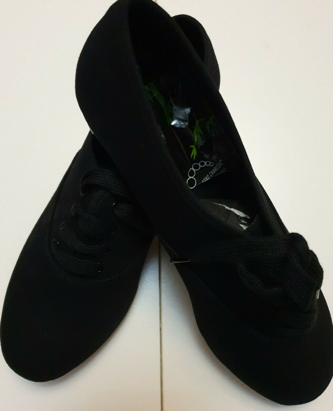 Tappers And Pointers Canvas Oxford Tap Shoes Size 4