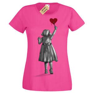 Create-T-Shirt-Banksy-girl-cute-heart-Womens-Ladies-artist-artists-gift