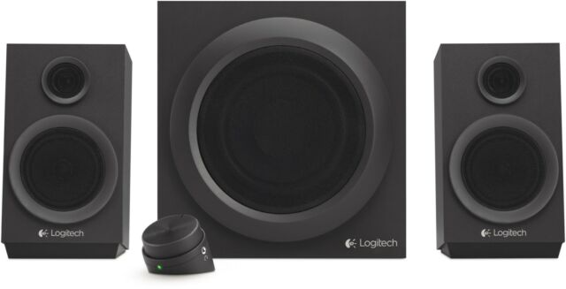 Logitech Aktiv-Boxen Z333 Multimedia Speakers Schwarz