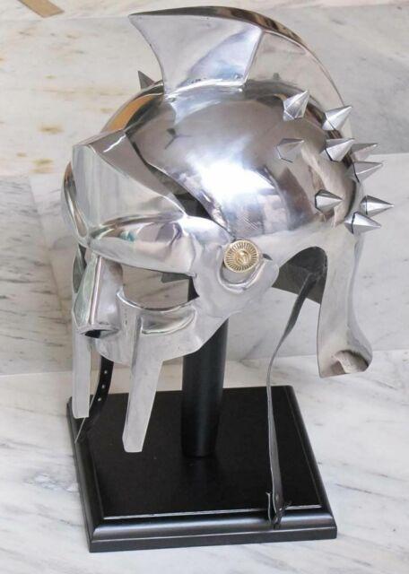 Maximus Medieval Gladiator Helmet Decimus Meridius Movie Reprodution