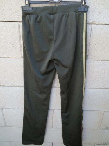 Adidas Pant Trousers Gold 34 para Sport Trefoil Khaki mujer Girl Vintage Retro rzIqxPr
