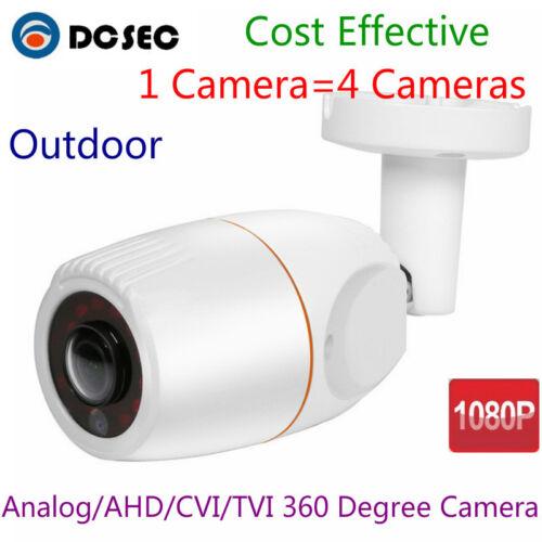 1080P HD AHD CVI TVI CCTV Security Camera Outdoor 360 Degree Wide Angle Fish eye