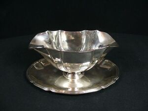 800-Silver-Sauceboat-Real-Silver-Weight-460g