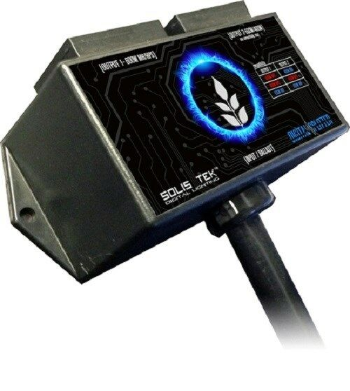 Solis Tek Digital Power Source Splitter 1000w Ballast into 2-600w SAVE BAY HYDRO