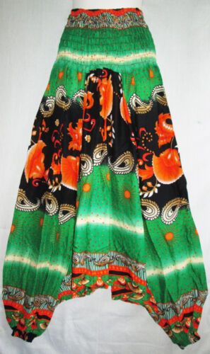 New Hippie Genie Alibaba Boho Gypsy Baggy Harem Casual Pants Yoga Trousers PH13