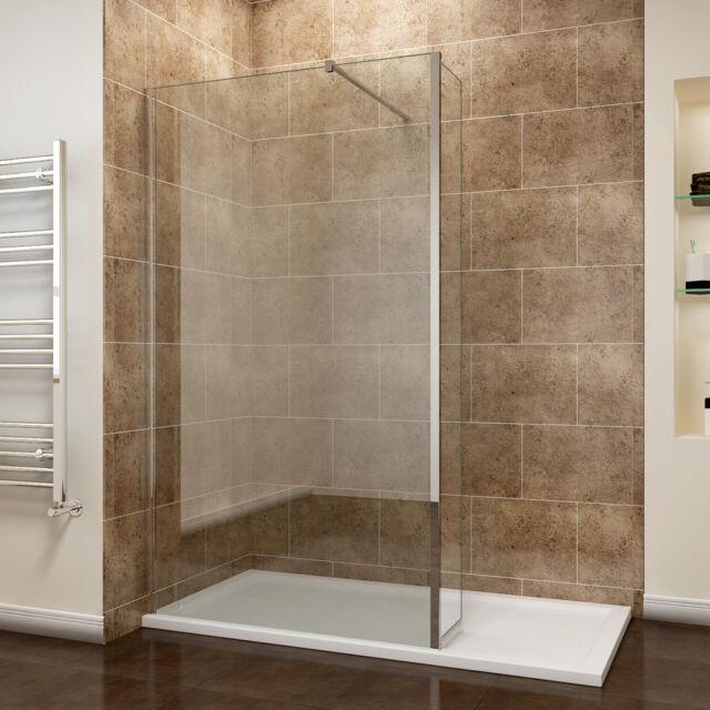 Frameless Shower Enclosure Corner Entry Cubicle Pivot Door and Stone ...