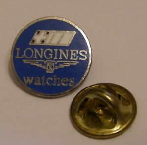 LONGINES-SWISS-WATCH-vintage-pin-badge