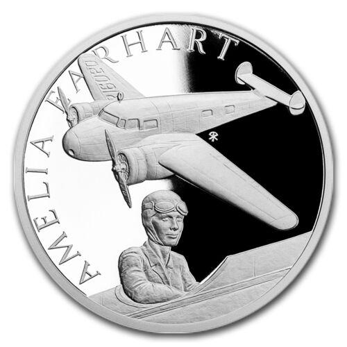 SKU#152909 2017 Niue 1 oz Silver Proof Century Of Flight Amelia Earhart