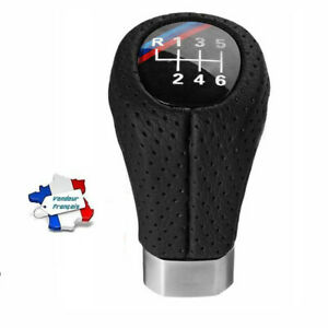 Pommeau-Levier-de-6-Vitesse-Pour-BMW-1-3-5-6-Serie-E60-E46-E87-E90-E92-X5-X3