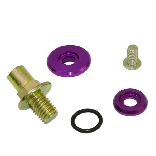 VTEC Valve Cover Washers Bolts Hardware Kit Purple For HONDA Civic ACURA Integra