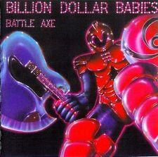 BILLION DOLLAR BABIES Battle Axe CD MINI LP ( Ex  Alice Cooper )