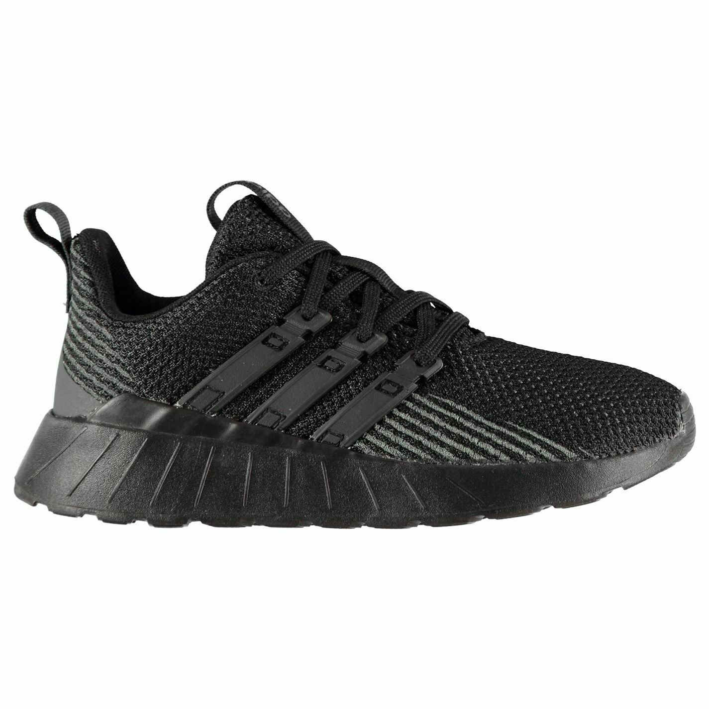 Adidas Kids Boys Questar Flow K Trainers  Runners Lace Up Breathable Mesh Upper  new sadie