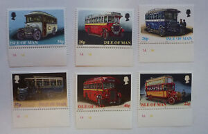 ISLE-OF-MAN-1999-BUSES-SET-OF-6-MINT-STAMPS-MNH