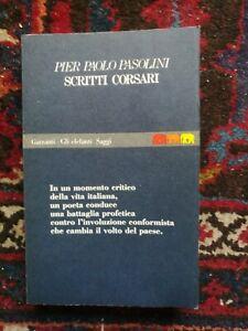 Pier-Paolo-Pasolini-Scritti-Corsari-Garzanti-1990